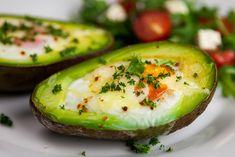 Veggie Recipes Healthy, Healthy Food Options, Healthy Baking, Healthy Drinks, Healthy Snacks, Vegan Recipes, Baked Avocado, Food Humor, Quick Easy Meals