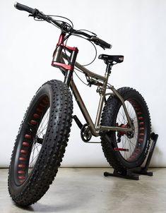 Lefty fat bike #fatbike #bicycle #fat-bike