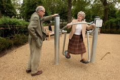 Playgrounds for senior citizens? Genius idea.  Subscribe to Life's learning's blog: http://lifeslearning.org/ Facebook page for Counselors: Facebook.com/LifesLearningForCounselors Twitter: @sapelskog