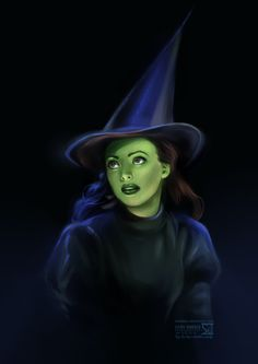 Wicked: Elphaba by daekazu on deviantART
