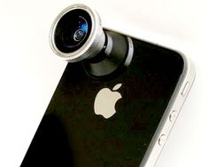 Take a picture around! - Magnetic Detachable 180° Fisheye Lens for iPhone, iPad $42