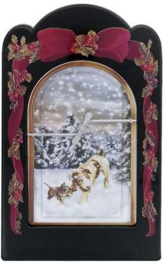 Classy Custom Seasonal Celebrations Decorative Pet Door Frame, Holiday Joy, Medium - http://www.thepuppy.org/classy-custom-seasonal-celebrations-decorative-pet-door-frame-holiday-joy-medium/