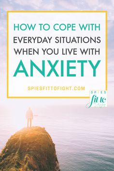 We need something more than a way to avoid anxiety, we need something to help us…