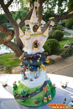 Google Image Result for http://www.supersizedmeals.com/food/images/articles/20080723-Super_Mario_Wedding_Cake_4.jpg