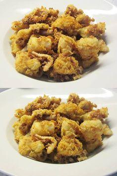 Καλαμαράκια τηγανητά !!! ~ ΜΑΓΕΙΡΙΚΗ ΚΑΙ ΣΥΝΤΑΓΕΣ 2