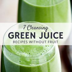 Do you find yourself struggling to get the daily recommended allowance of fruits and vegetables in your diet?Green juice is a healthy way to sneak in extra servings of vegetables in your diet when you don't have the time to eat a big salad. I stress drinking juices and smoothies ...