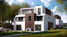 Perspective 3D d'une maison BBC