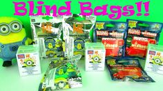Super Surprise Toys Despicable Me & Disney Marvel Avengers Wikkeez Blind Bags Fun Kids Opening  on http://www.princeoftoys.visiblehorizon.org