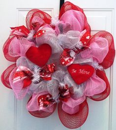 Valentine's Day LOVE! My mom makes these..let me know if you would like to order! Las0828@gmail.com