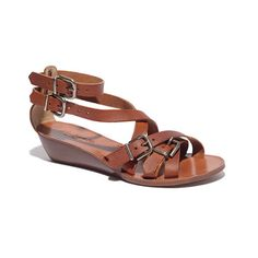 the whistlestop sandal / madewell