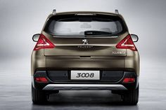 2016 Peugeot 3008 rear