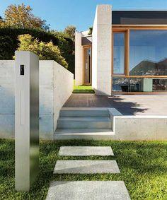 ステンレス機能門柱≪オスポール≫のデザイン - サンワカンパニーのこだわり