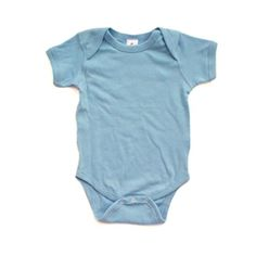 Apericots Super Soft Cotton Blank Plain Comfy Baby Short Sleeve Bodysuit - Brought to you by Avarsha.com