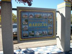 Barelas Neighorhood Sign, Albuquerque