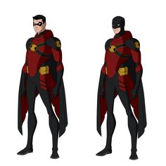 Red Robin Titans Designs by Bobkitty23 on deviantART