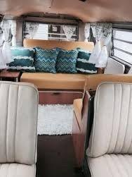 Image result for hipster camper van interior