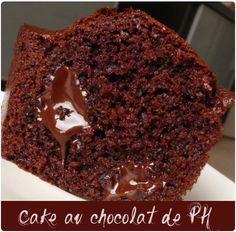 Cake au chocolat de Pierre Hermé aux pépites chocolat / fleur de sel