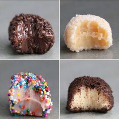 Brazilian Truffles (Brigadeiros) 4 Ways by Tasty
