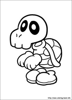 Super Mario Bros Coloring Pages 12 Super Mario Party, Super Mario Bros, Coloring Book Pages, Coloring Sheets, Free Coloring, Coloring Pages For Kids, Cartoon Drawings, Art Drawings, Super Mario Coloring Pages
