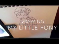 Speed drawing -   My little Pony