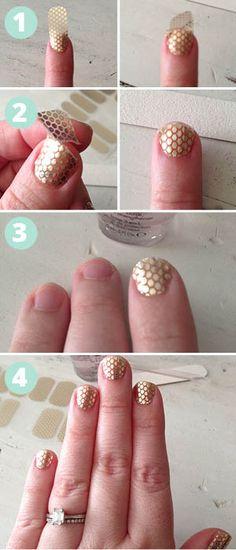 Essie Sleek Sticks Nail Stickers, Essie, Essie Nail Polish, Nail Stickers, How to apply Nail Stickers  http://beautyjunket.com/nailed-it-essie-sleek-stick-nail-stickers/