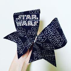 Star Wars BLING rhinestone cheer bow