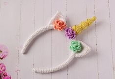 57 Best Ideas For Crochet Unicorn Headband Etsy Crochet Unicorn Blanket, Crochet Unicorn Pattern, Easter Crochet Patterns, Crochet Headband Pattern, Crochet Beanie Hat, Crochet Ideas, Crochet Winter Hats, Unicorn Costume, Unicorn Headband
