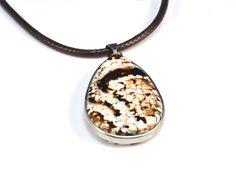 fire agate pendant, teardrop pendant, pattern agate pendant, black and brown stone jewelry, gemstone pendant, healing stone pendant