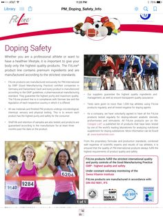 Doping Safety