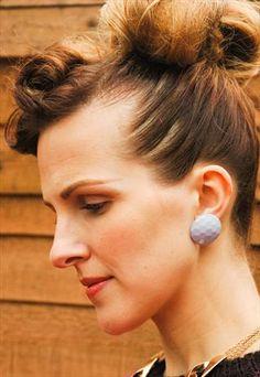 Pale lilac earrings