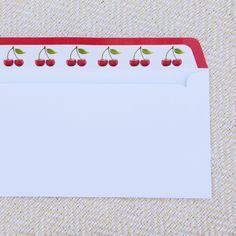 Cherry flavored envelopes :-)