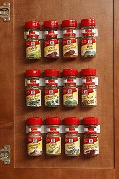 80281ef849 Amazon.com  Spice Rack Storage Organizer- Organizes 12 spice jars  Kitchen    Dining