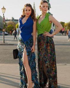 yesterdays spring ball was wonderful & are wearing 2 extravagant KUKLAs Every Woman, Austria, Dancer, Wrap Dress, Women Wear, Women's Fashion, Spring, Skirts, How To Wear
