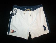 Polo Ralph Lauren Big Pony Shorts White