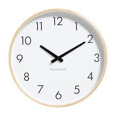 Weston Clock - White
