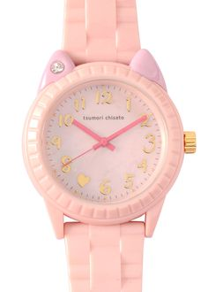 pink kitty watch