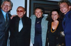 barry manilow photo now | ... , Clive Davis, Marty Panzer, Adrienne Anderson, and Barry Manilow