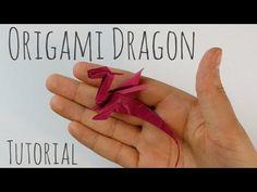 Dragon Origami facile par Armin Täubner / Tutorial - Post Tutorial and Ideas Origami Rose, Origami Simple, Instruções Origami, Origami Tattoo, Origami Ball, Origami Star Box, How To Make Origami, Origami Butterfly, Useful Origami