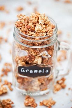 Clean Eating Maple Cinnamon Granola Recipe