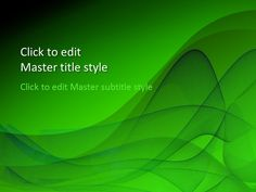 Free Green Design PowerPoint Template - Free PowerPoint Templates