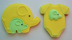 Elephant Baby Shower Cookies   Cookie Connection