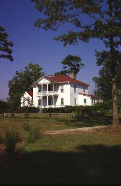 Lebanon Plantation House, Harnett Cty. NC circa 1824