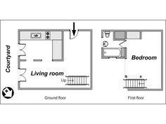 Am nagement d 39 un appartement t2 neuf de 45m2 dans la r sidence urban gard - Plan amenagement studio 30m2 ...
