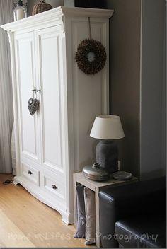 Painted wardrobe  ~ lovingly repinned by www.skipperwoodhome.co.uk