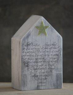 Casetta in scarti di legno lamellare 150x45