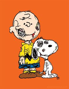 """Print """"The Perfect Friend"""" Peanuts Halloween, Halloween Horror, Cute Halloween, Charlie Brown Christmas, Charlie Brown And Snoopy, Christmas Carol, Snoopy Images, Snoopy Pictures, Snoopy Love"""