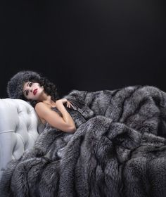 7054e4cfe8bd Silver Fox Fur Blanket I love this I just don t really like to kill