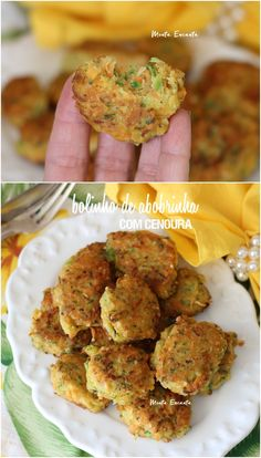 Zucchini muffin with carrot is licking the lips! Vegetarian Dinners, Vegetarian Recipes, Healthy Recipes, I Love Food, Good Food, Yummy Food, Vegan Appetizers, Vegetable Dishes, No Cook Meals