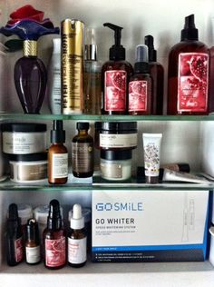 Courtney Cason QVC host personal beauty favorites: WEN, PTR (Peter Thomas Roth), Philosophy, Perricone Md.