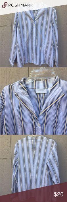 Button up shirt Button up shirt Liz Claiborne petite  grade addition for fall Liz Claiborne Tops Button Down Shirts